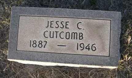 CUTCOMB, JESSE C. - Cherry County, Nebraska   JESSE C. CUTCOMB - Nebraska Gravestone Photos