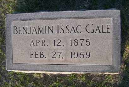 GALE, BENJAMIN ISSAC - Cherry County, Nebraska | BENJAMIN ISSAC GALE - Nebraska Gravestone Photos