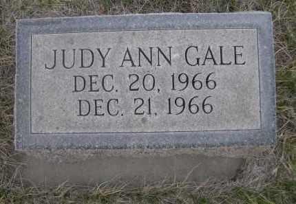 GALE, JUDY ANN - Cherry County, Nebraska   JUDY ANN GALE - Nebraska Gravestone Photos