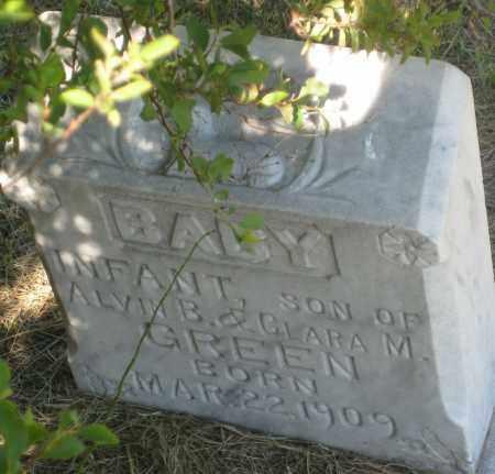 GREEN, BABY - Cherry County, Nebraska | BABY GREEN - Nebraska Gravestone Photos