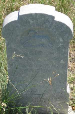 GREEN, JESSIE J. - Cherry County, Nebraska | JESSIE J. GREEN - Nebraska Gravestone Photos