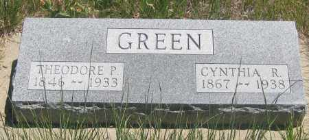 GREEN, THEODORE P. - Cherry County, Nebraska | THEODORE P. GREEN - Nebraska Gravestone Photos