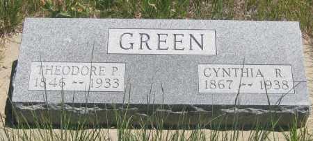 GREEN, CYNTHIA  R. - Cherry County, Nebraska | CYNTHIA  R. GREEN - Nebraska Gravestone Photos