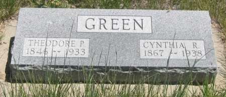 GREEN, THEODORE  P. - Cherry County, Nebraska | THEODORE  P. GREEN - Nebraska Gravestone Photos