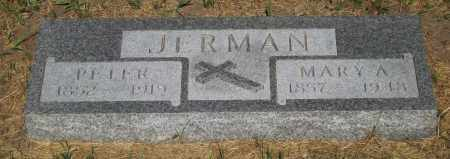 JERMAN, MARY - Cherry County, Nebraska | MARY JERMAN - Nebraska Gravestone Photos