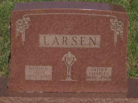 LARSEN, CHARLES - Cherry County, Nebraska | CHARLES LARSEN - Nebraska Gravestone Photos