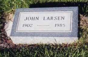 LARSEN, JOHN - Cherry County, Nebraska   JOHN LARSEN - Nebraska Gravestone Photos
