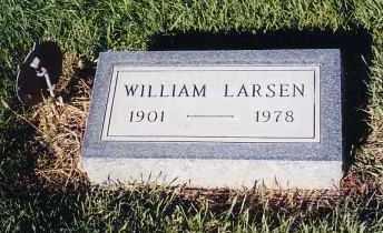 LARSEN, WILLIAM - Cherry County, Nebraska | WILLIAM LARSEN - Nebraska Gravestone Photos