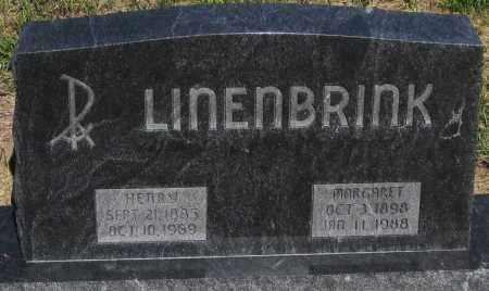 LINENBRINK, MARGARET - Cherry County, Nebraska | MARGARET LINENBRINK - Nebraska Gravestone Photos