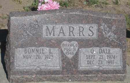MARRS, O. DALE - Cherry County, Nebraska | O. DALE MARRS - Nebraska Gravestone Photos