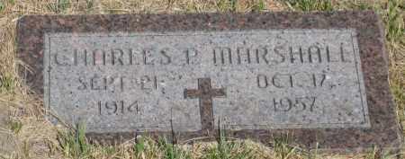 MARSHALL, CHARLES  P. - Cherry County, Nebraska | CHARLES  P. MARSHALL - Nebraska Gravestone Photos