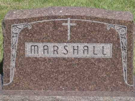 MARSHALL, FAMILY STONE - Cherry County, Nebraska | FAMILY STONE MARSHALL - Nebraska Gravestone Photos