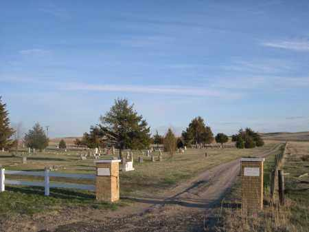 *PRAIRIE LAWN CEMETERY, ENTRANCE TO - Cherry County, Nebraska | ENTRANCE TO *PRAIRIE LAWN CEMETERY - Nebraska Gravestone Photos