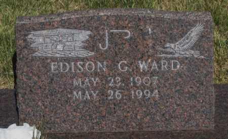 WARD, EDISON  G. - Cherry County, Nebraska | EDISON  G. WARD - Nebraska Gravestone Photos