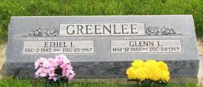 EARHART GREENLEE, ETHEL IDA - Cheyenne County, Nebraska | ETHEL IDA EARHART GREENLEE - Nebraska Gravestone Photos