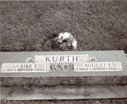 KURTH, AUGUST F.F. - Cheyenne County, Nebraska | AUGUST F.F. KURTH - Nebraska Gravestone Photos
