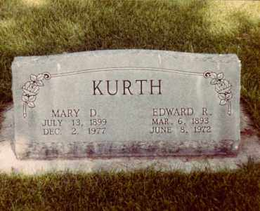 KURTH, MARY - Cheyenne County, Nebraska | MARY KURTH - Nebraska Gravestone Photos