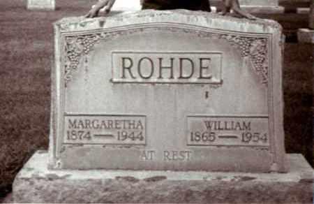 ROHDE, MARGARETHA - Cheyenne County, Nebraska | MARGARETHA ROHDE - Nebraska Gravestone Photos