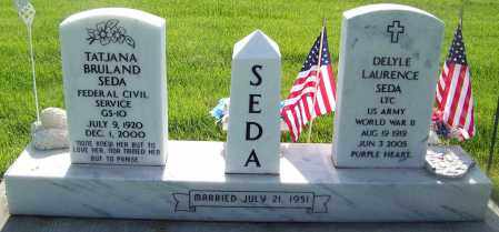 SEDA, DELYLE - Cheyenne County, Nebraska   DELYLE SEDA - Nebraska Gravestone Photos
