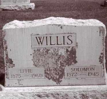 WILLIS, SOLOMON - Cheyenne County, Nebraska | SOLOMON WILLIS - Nebraska Gravestone Photos