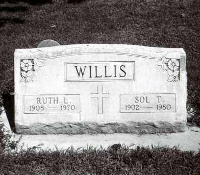 WILLIS, SOLOMON THOMAS - Cheyenne County, Nebraska | SOLOMON THOMAS WILLIS - Nebraska Gravestone Photos