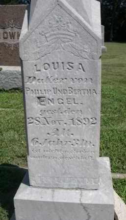 ENGEL, LOUISA - Clay County, Nebraska   LOUISA ENGEL - Nebraska Gravestone Photos