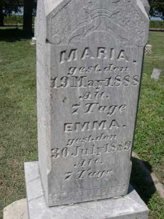 ENGEL, EMMA - Clay County, Nebraska | EMMA ENGEL - Nebraska Gravestone Photos