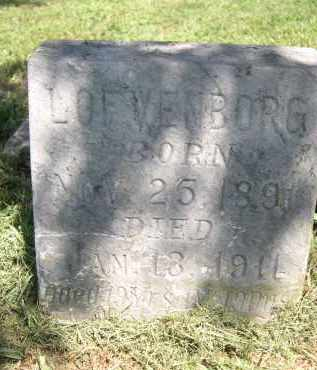 LOFVENBORG, UNKNOWN - Clay County, Nebraska | UNKNOWN LOFVENBORG - Nebraska Gravestone Photos
