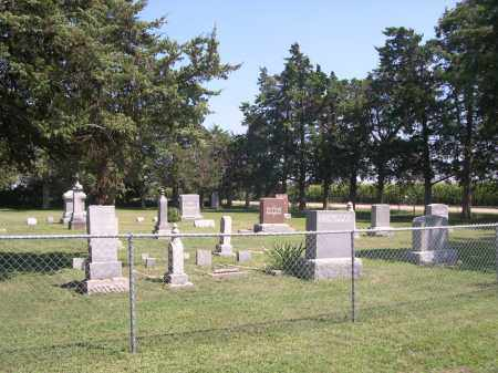 *SOUTH INLAND CEMETERY, VIEW OF - Clay County, Nebraska | VIEW OF *SOUTH INLAND CEMETERY - Nebraska Gravestone Photos