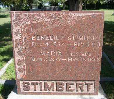 STIMBERT, MARIA - Clay County, Nebraska | MARIA STIMBERT - Nebraska Gravestone Photos
