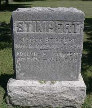 STIMPERT, JACOB - Clay County, Nebraska | JACOB STIMPERT - Nebraska Gravestone Photos