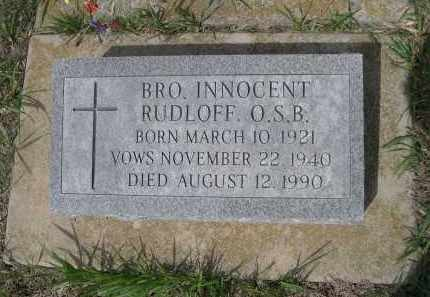RUDLOFF, INNOCENT - Colfax County, Nebraska | INNOCENT RUDLOFF - Nebraska Gravestone Photos