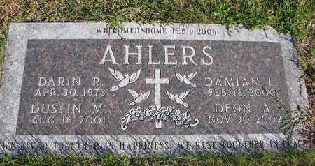AHLERS, DARIN R. - Cuming County, Nebraska | DARIN R. AHLERS - Nebraska Gravestone Photos