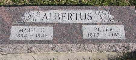 ALBERTUS, MABEL C. - Cuming County, Nebraska   MABEL C. ALBERTUS - Nebraska Gravestone Photos