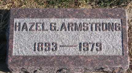ARMSTRONG, HAZEL G. - Cuming County, Nebraska   HAZEL G. ARMSTRONG - Nebraska Gravestone Photos