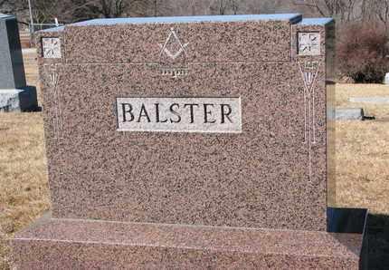 BALSTER, (FAMILY MONUMENT) - Cuming County, Nebraska   (FAMILY MONUMENT) BALSTER - Nebraska Gravestone Photos