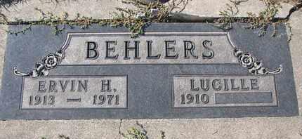 KELLER BEHLERS, LUCILLE - Cuming County, Nebraska   LUCILLE KELLER BEHLERS - Nebraska Gravestone Photos