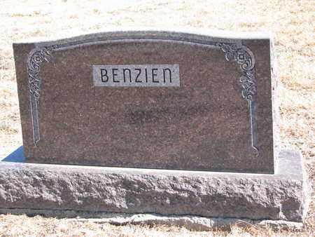 BENZIEN, (FAMILY MONUMENT) - Cuming County, Nebraska   (FAMILY MONUMENT) BENZIEN - Nebraska Gravestone Photos