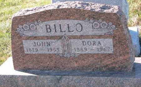 BILLO, JOHN - Cuming County, Nebraska | JOHN BILLO - Nebraska Gravestone Photos