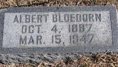 BLOEDORN, ALBERT F.W. - Cuming County, Nebraska   ALBERT F.W. BLOEDORN - Nebraska Gravestone Photos