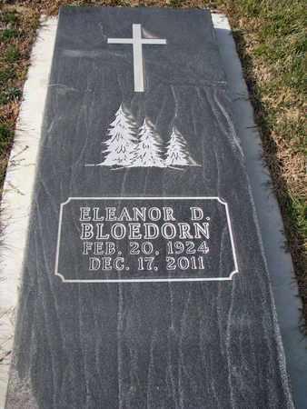 BLOEDORN, ELEANOR D. - Cuming County, Nebraska | ELEANOR D. BLOEDORN - Nebraska Gravestone Photos