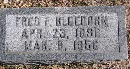 BLOEDORN, FRED F. - Cuming County, Nebraska | FRED F. BLOEDORN - Nebraska Gravestone Photos