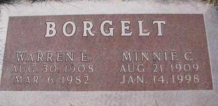 BORGELT, WARREN E. - Cuming County, Nebraska | WARREN E. BORGELT - Nebraska Gravestone Photos