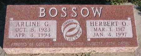 BOSSOW, ARLINE G. - Cuming County, Nebraska | ARLINE G. BOSSOW - Nebraska Gravestone Photos
