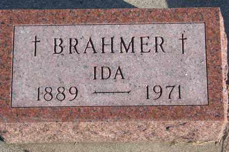 BRAHMER, IDA - Cuming County, Nebraska | IDA BRAHMER - Nebraska Gravestone Photos