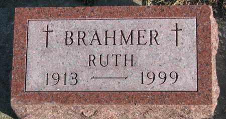 BRAHMER, RUTH - Cuming County, Nebraska   RUTH BRAHMER - Nebraska Gravestone Photos