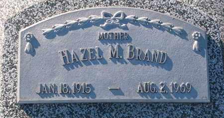 BRAND, HAZEL M. - Cuming County, Nebraska | HAZEL M. BRAND - Nebraska Gravestone Photos