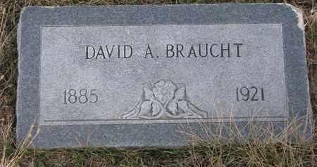 BRAUGHT, DAVID A. - Cuming County, Nebraska | DAVID A. BRAUGHT - Nebraska Gravestone Photos