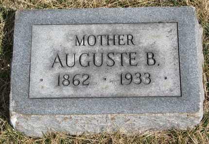 BREETZKE, AUGUSTE B. - Cuming County, Nebraska | AUGUSTE B. BREETZKE - Nebraska Gravestone Photos