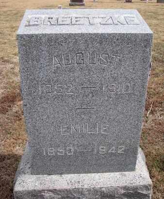 BREETZKE, EMILIE - Cuming County, Nebraska   EMILIE BREETZKE - Nebraska Gravestone Photos